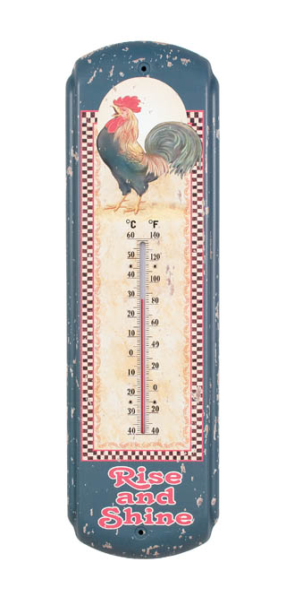 Rise and Shine Rooster Thermometer