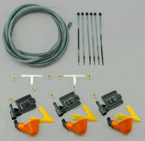 Poultry Cage Watering Kit