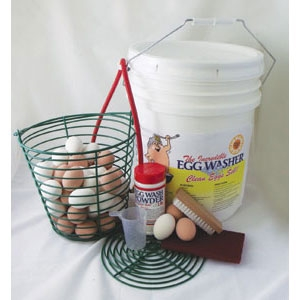 The Incredible Egg Washer Kit