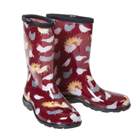 McMurray Hatchery Sloggers Red Chicken Boots