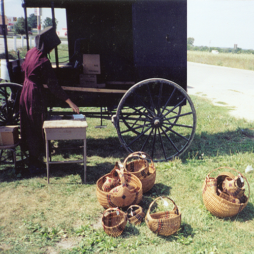 McMurray Hatchery Hand-Woven Amish Wicker Baskets