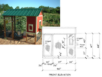 playhouse coop design